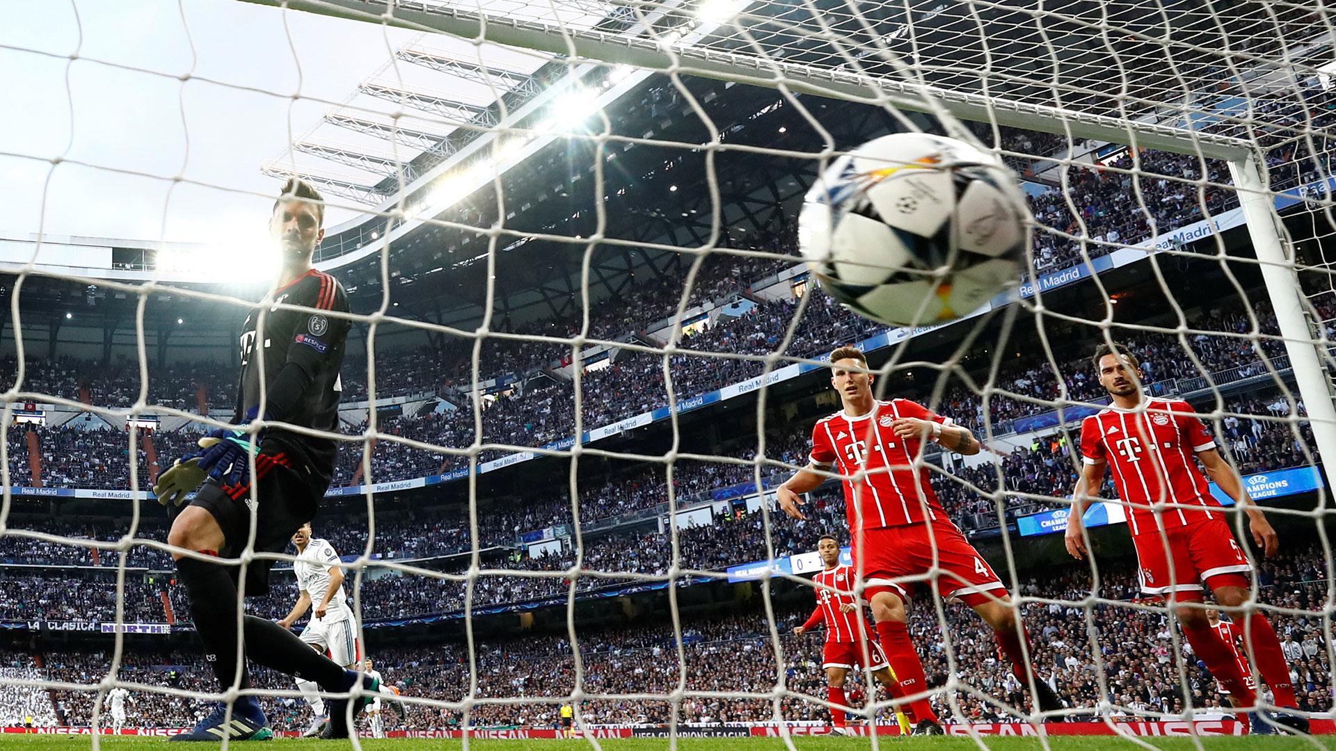 Real Madrid venció al Bayern Múnich y disputará la final de la Champions League (Foto: Reuters)