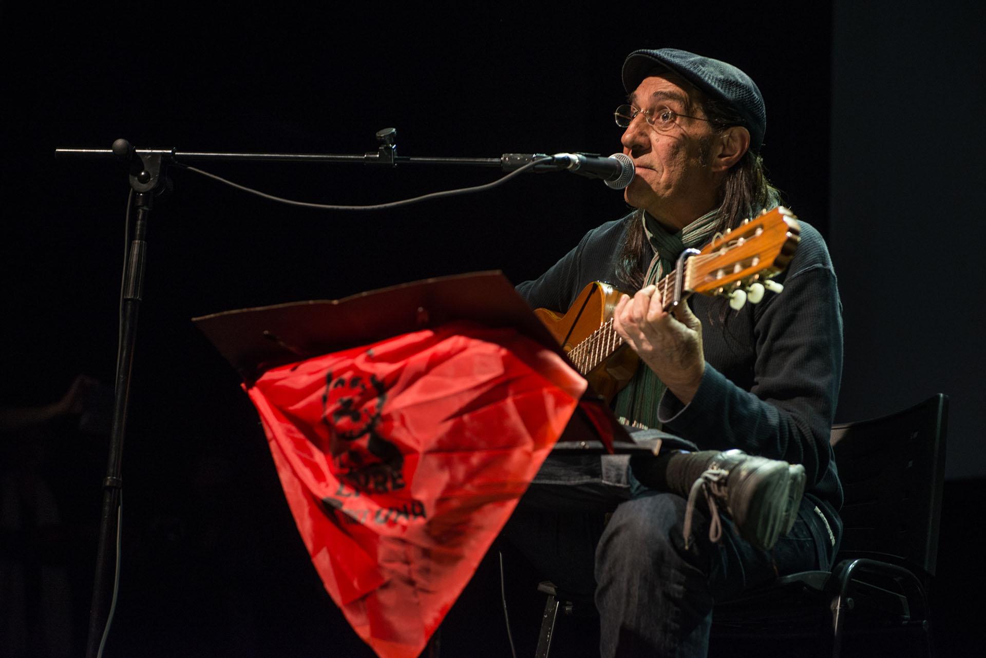 Horacio Fontova fue otro de los artistas que participaron