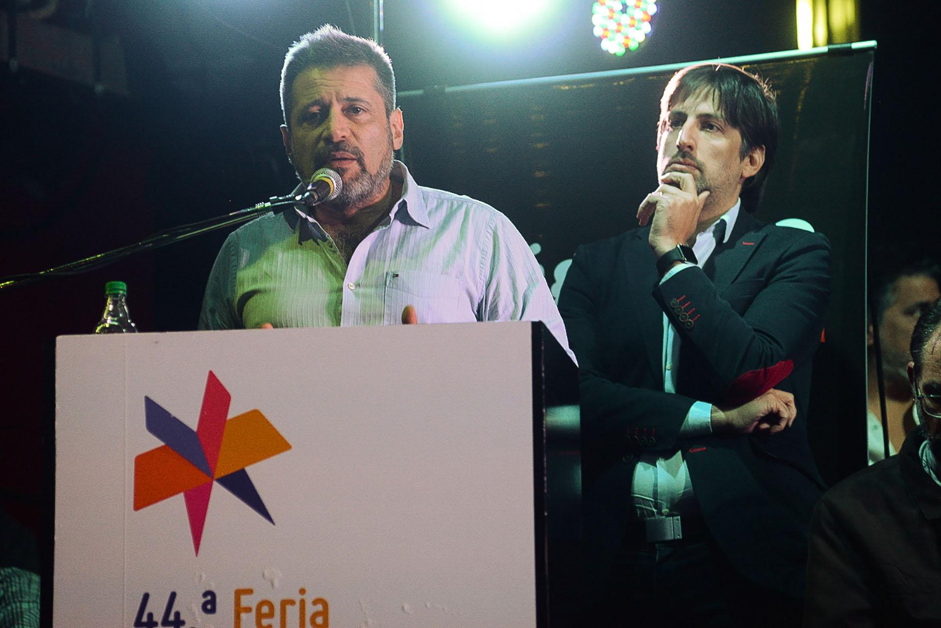 Santa María habla, y el rector de la UMET Nicolás Trotta escucha
