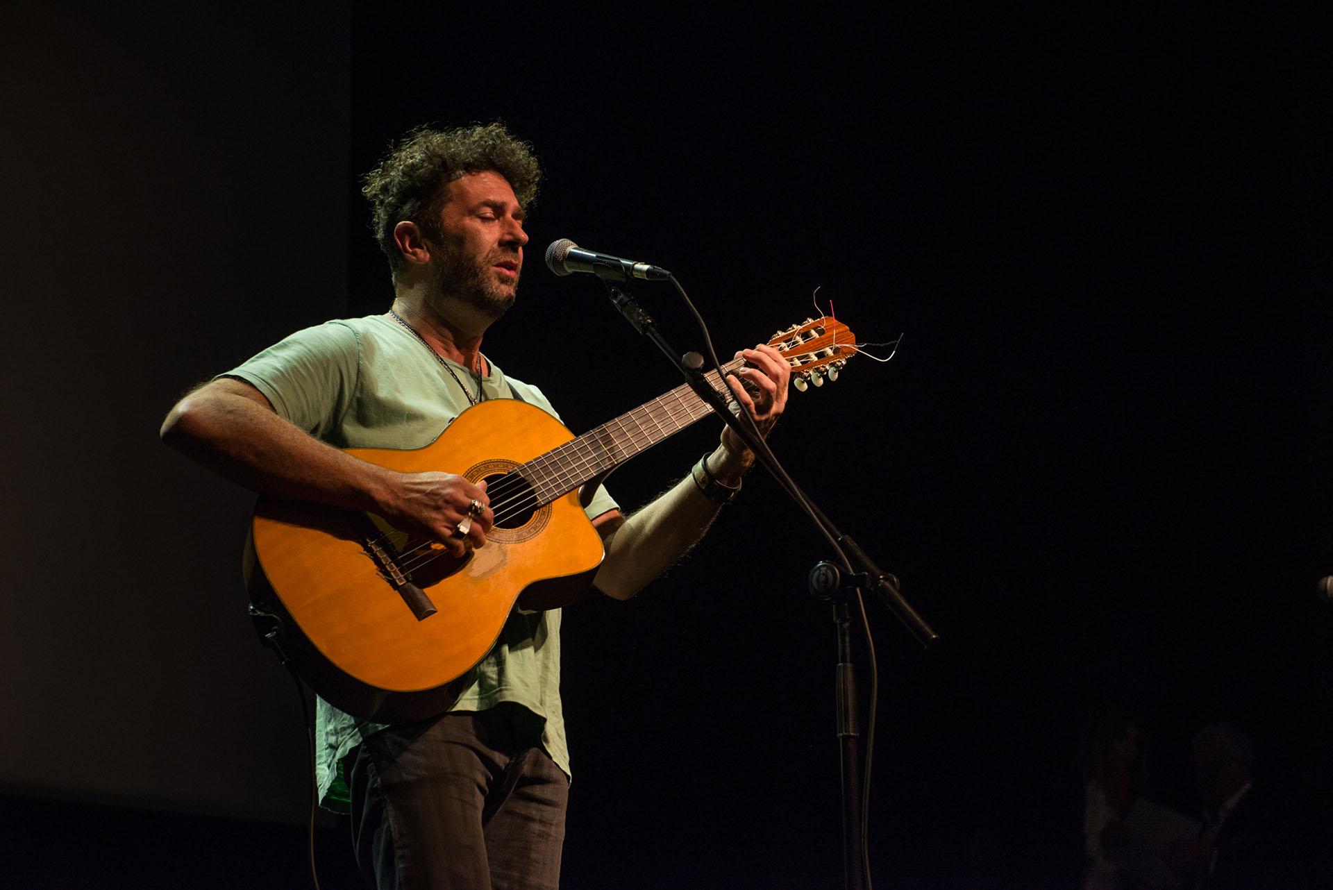 El cantante Palo Pandolfo