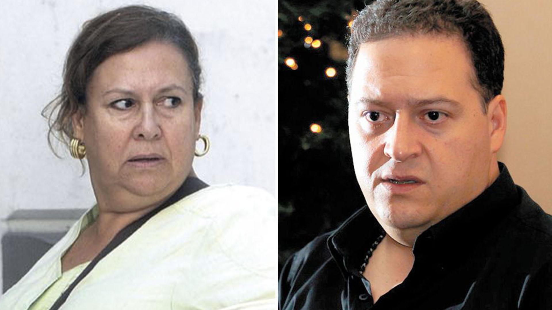 María Isabel Santos Caballero y Sebastián Marroquín.