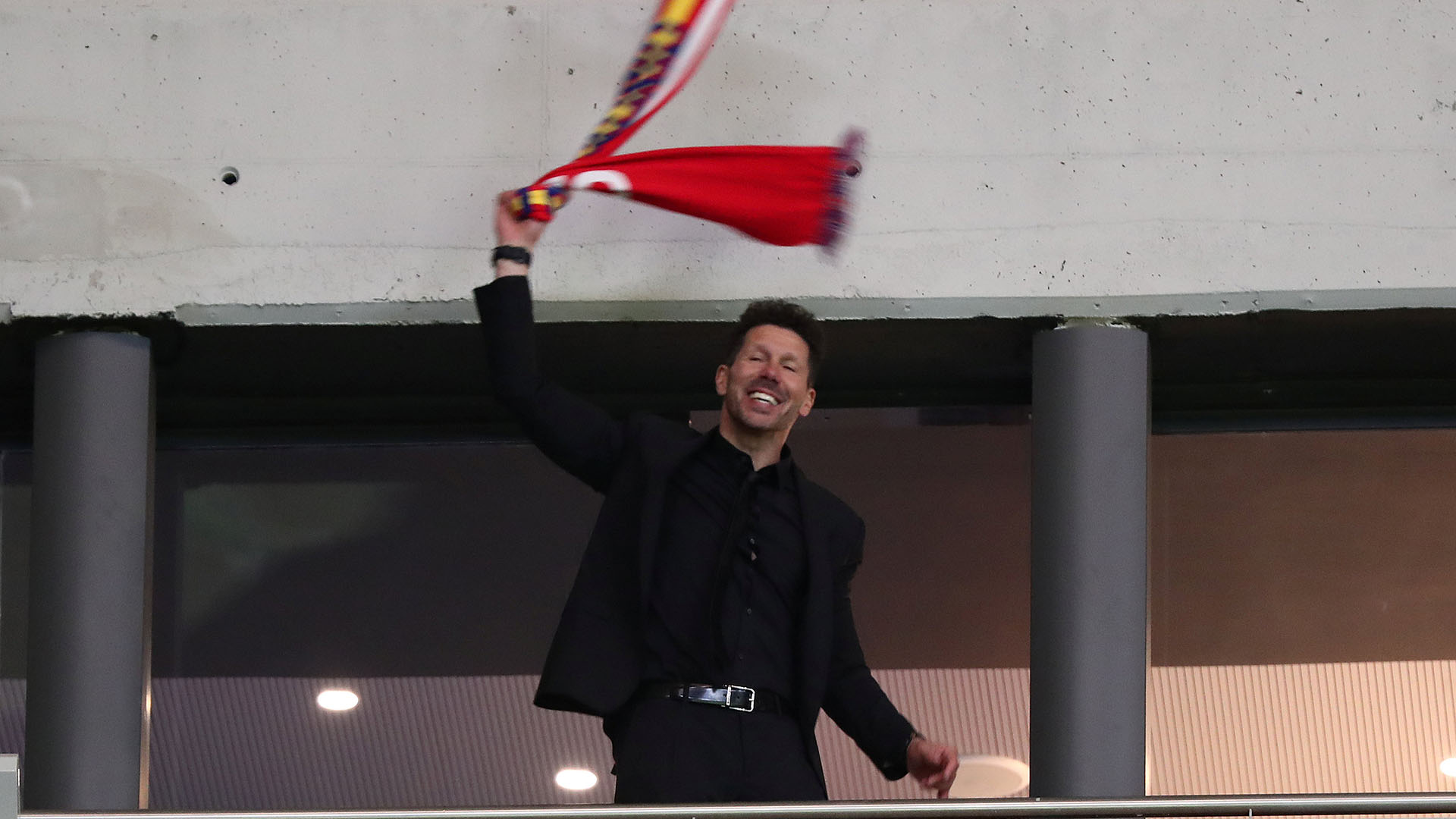 Así celebró el pasaje a la final de la actual Europa League (Foto: Reuters)