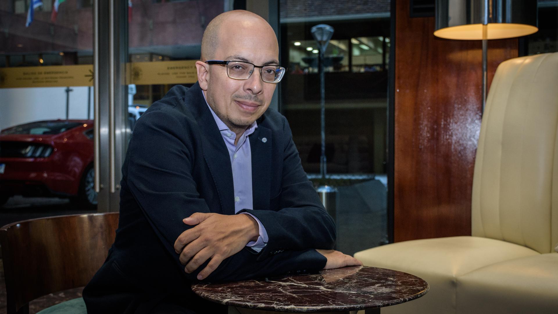 El escritor mexicano Jorge Volpi (Martín Rosenzveig)