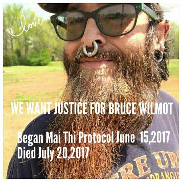 La muerte Bruce Wilmot provocó un movimiento contra Epperly en Facebook.