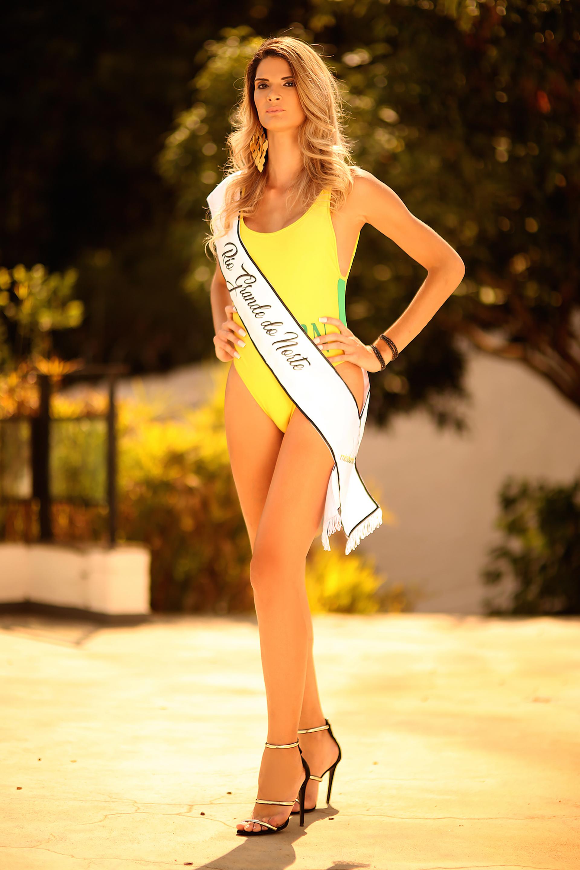 Giovanna Spinella, 28 años. La modelo transgénero aseguró que su sueño era competir en un certamen de belleza (Photo © 2018 Splash News/The Grosby Group)