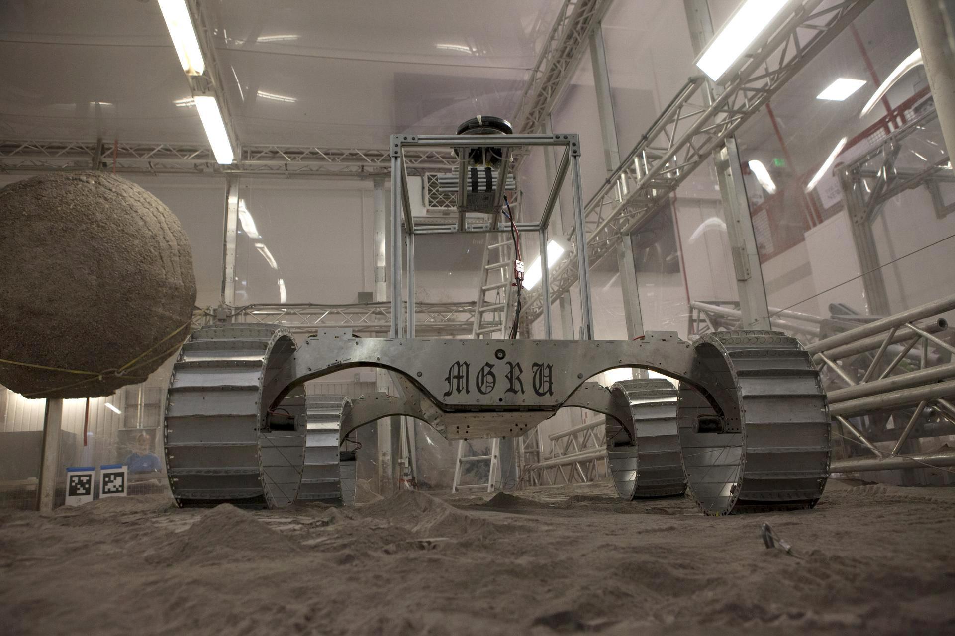 Un simulador de la NASA en un espacio del Kennedy Space Center en Florida (Cortesía: Kennedy Space Center)