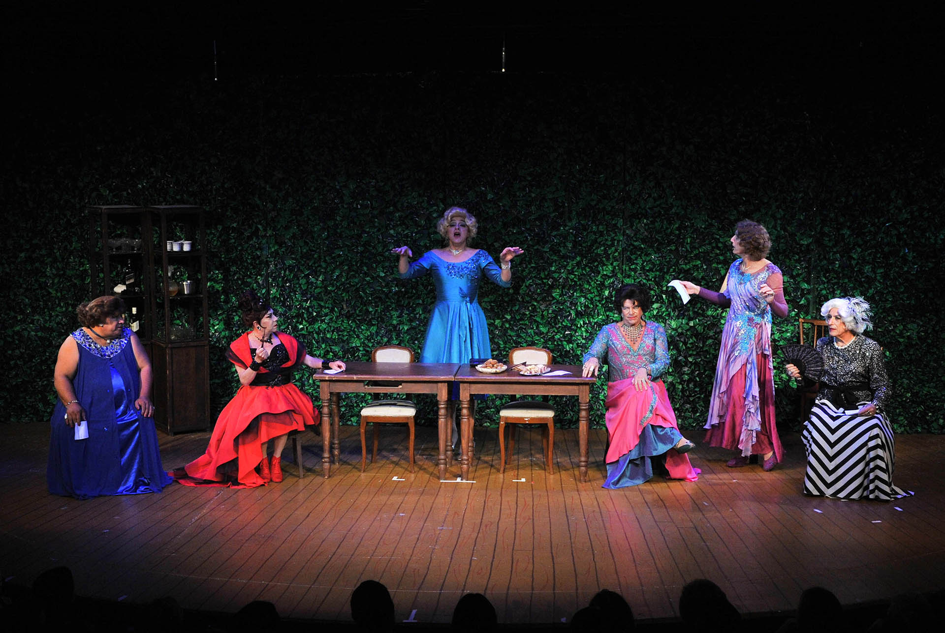 Todos sus compañeros coincidieron en destacar el enorme aporte creativo de Pachano a la pieza teatral