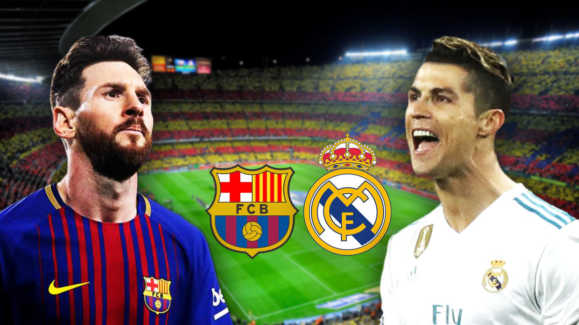 Lionel Messi y Cristiano Ronaldo, las figuras del Clásico de España