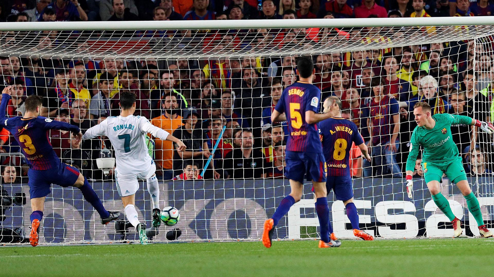 El portugués Cristiano Ronaldo marcó el 1-1 (Foto: EFE)
