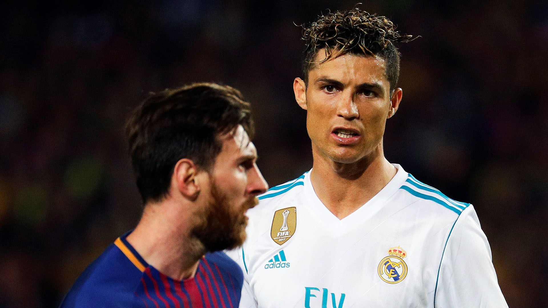 Messi y Cristiano Ronaldo (Fotos: EFE)