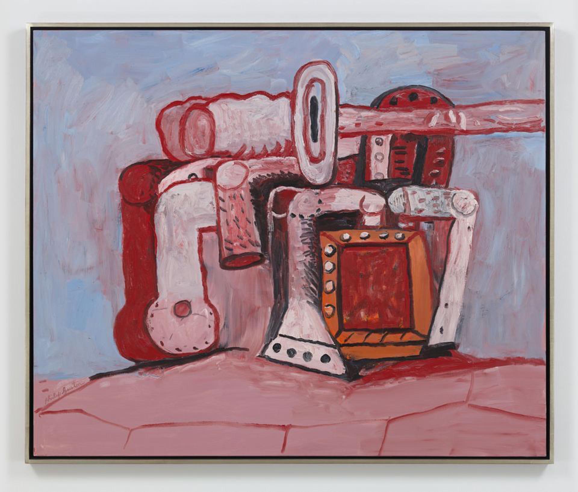 La pintura Forms on Rock Ledge, de Philip Guston, fue vendida por USD 5,5 millones de dólares