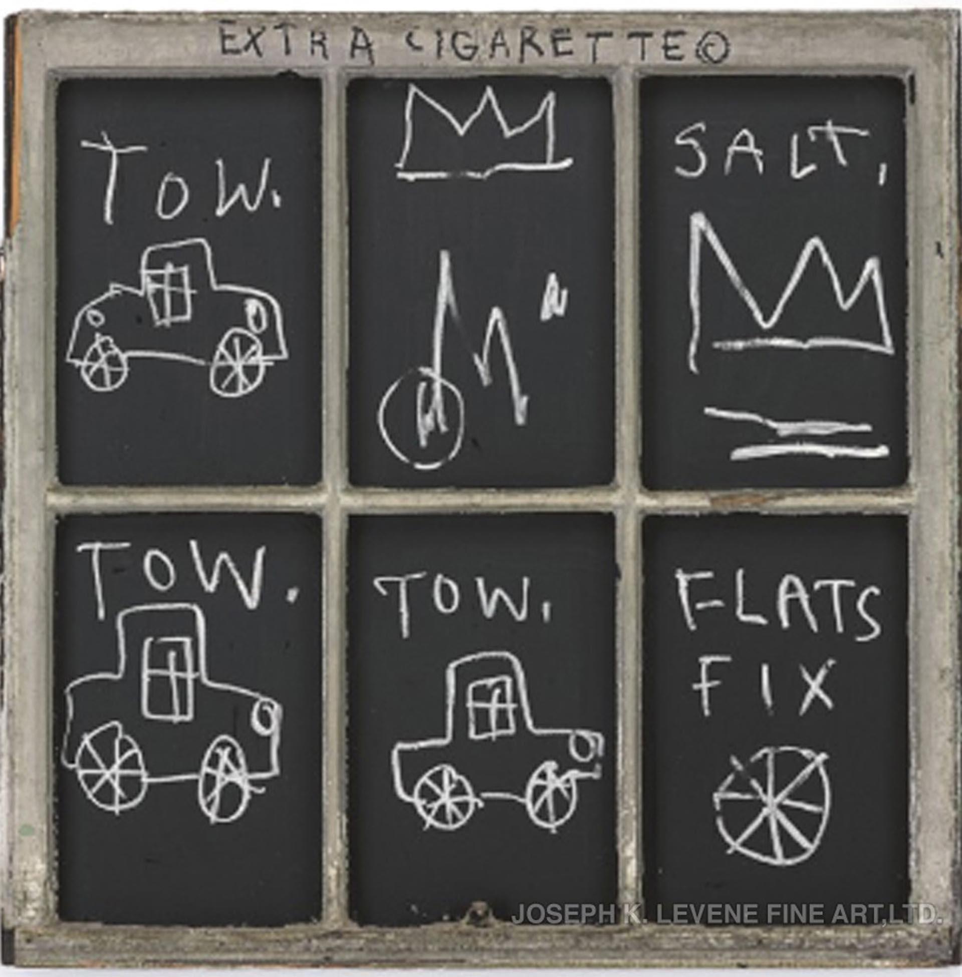 """""""Extra cigarrette"""", de Jean-Michel Basquiat"""