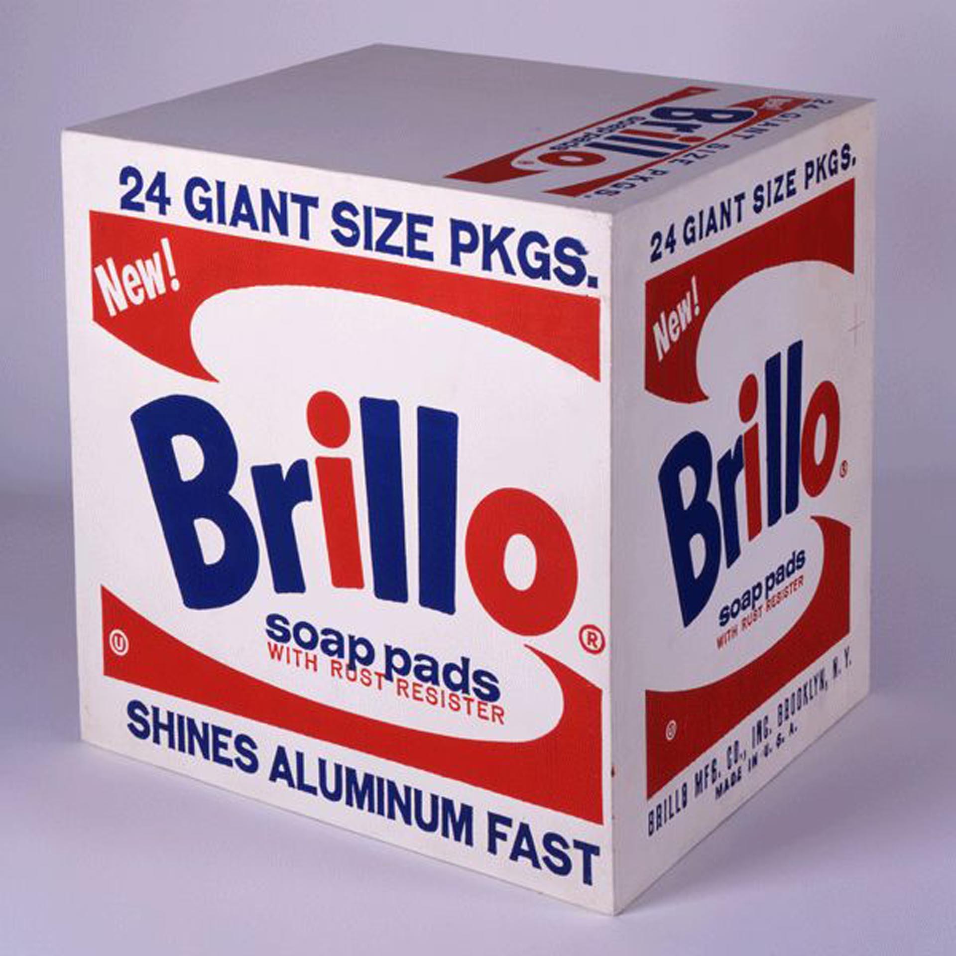 """""""Brillo Soap Pads Box"""", de Andy Warhol, se vendió por USD 1 millón"""