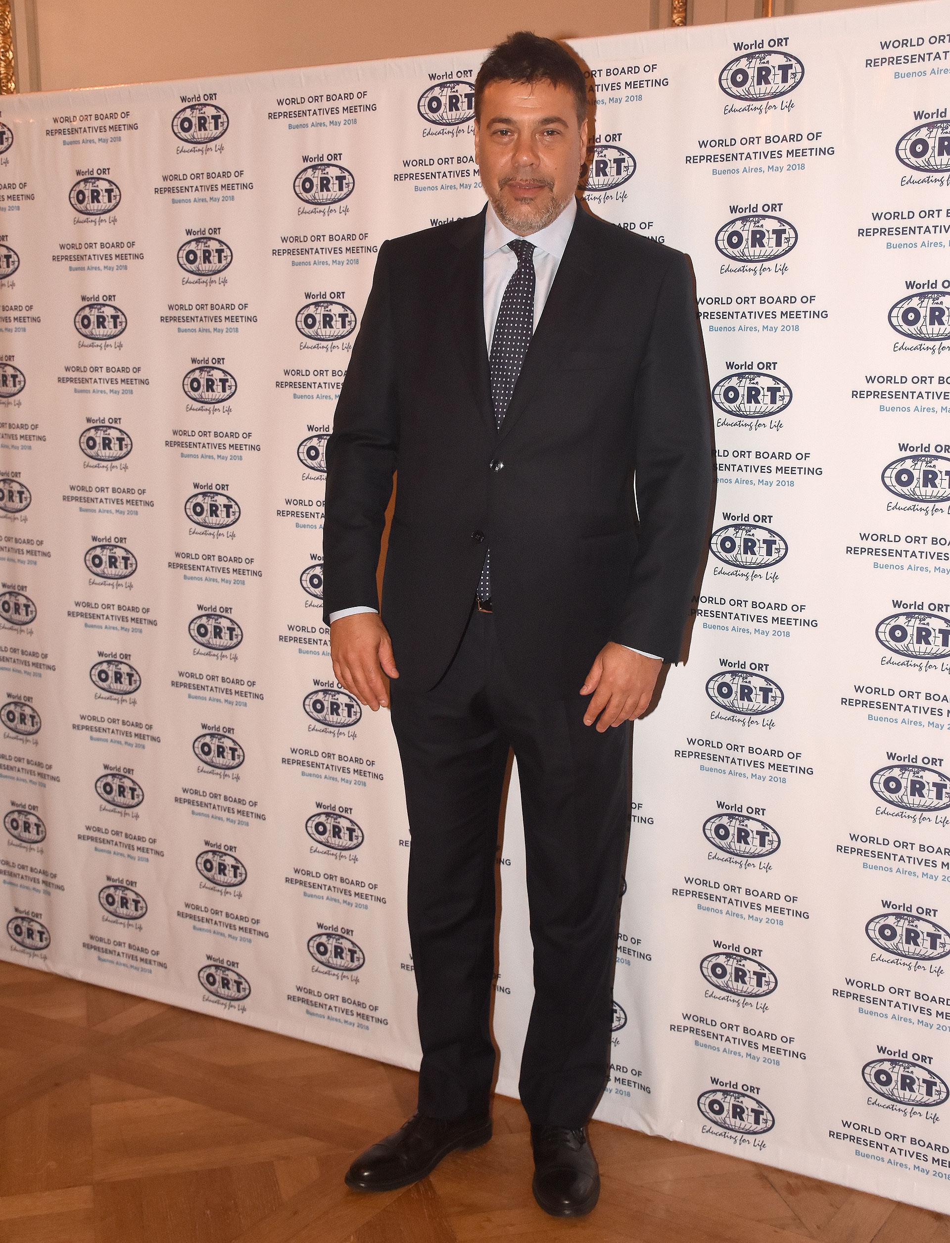 El presidente del consejo de administración de ORT Mundial, Darío Werthein