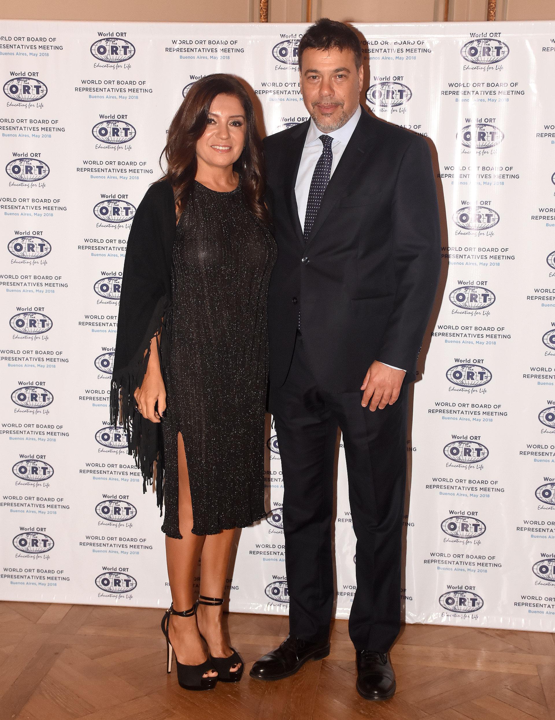 Darío Werthein junto a su esposa Cecilia