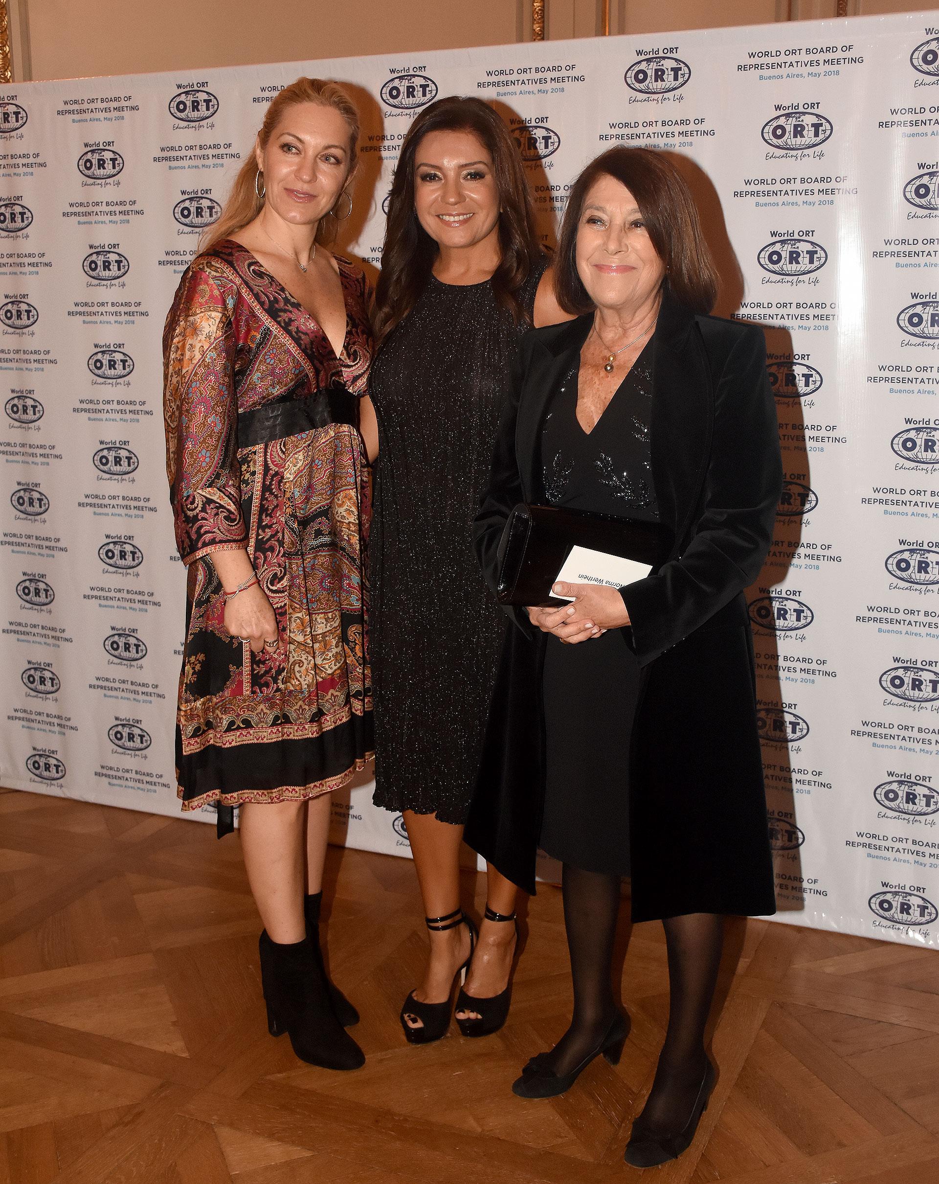 Monica Kozolovsky de Merikanskas, Cecilia Nobili y Norma G. de Werthein