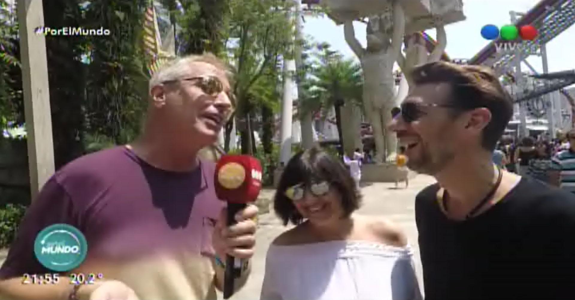 """Marley, Vernaci y Tortonese en """"Por el mundo"""""""