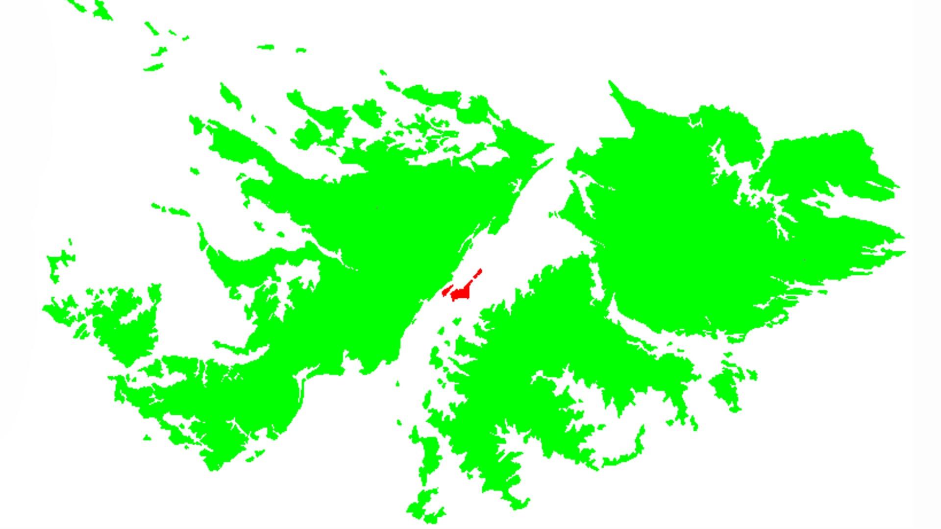 Isla Cisne – Estrecho de San Carlos
