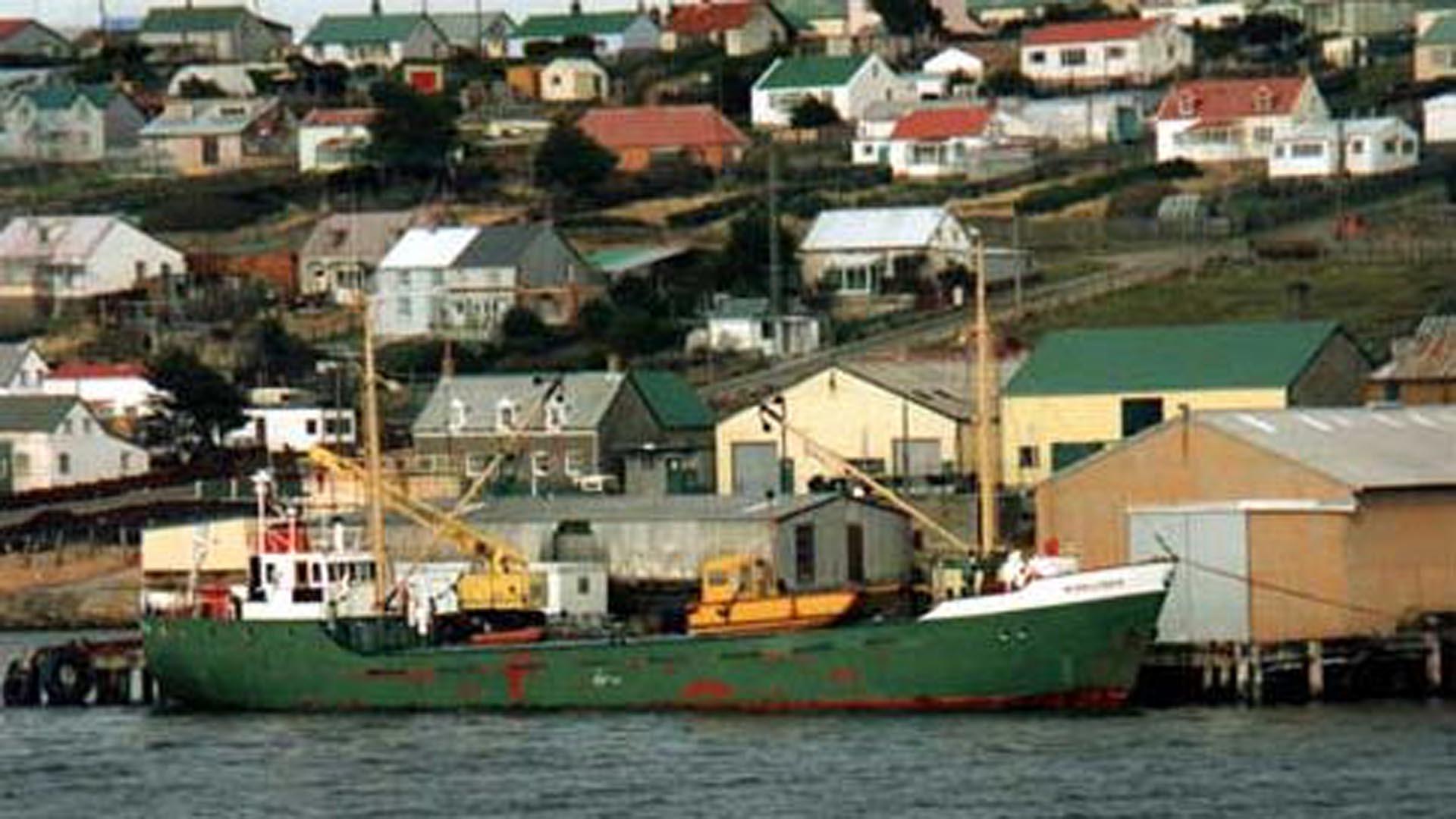 Monsunen en Malvinas
