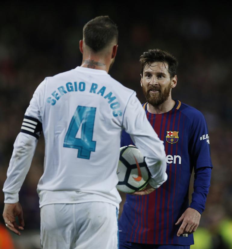 Sergio Ramos fue uno de los protagonistas del Clásico