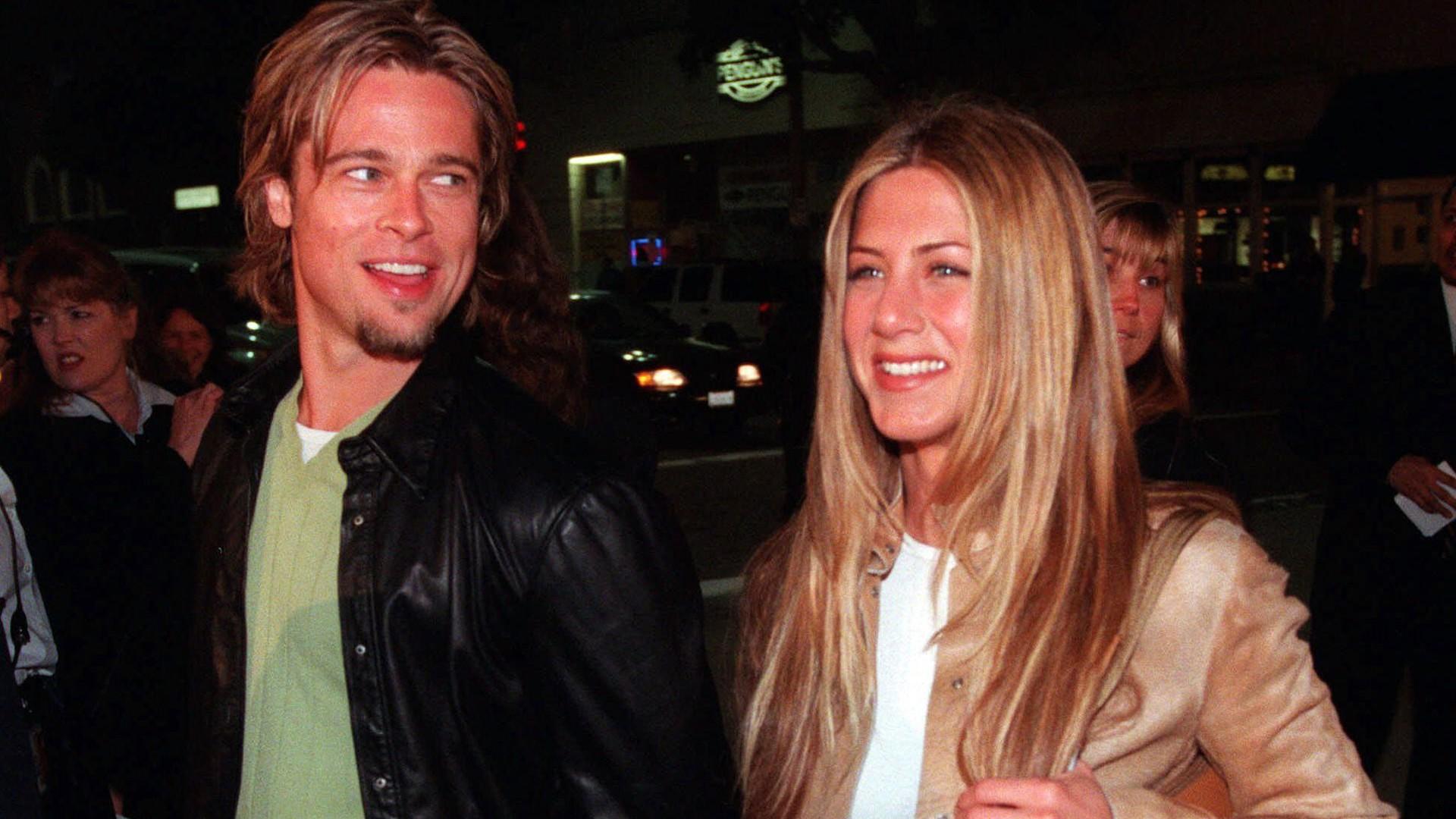 Jennifer Aniston y Brad Pitt eran una de las parejas más famosas deHollywood(Foto: AP)