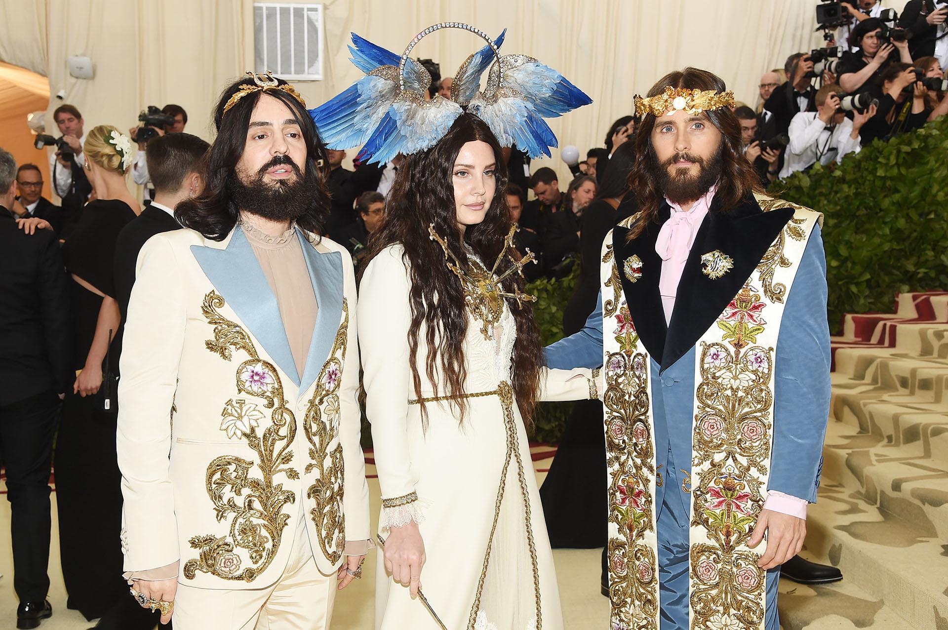Alessandro Michele, director creativo de Gucci, Lana Del Rey como la virgen y Jared Leto