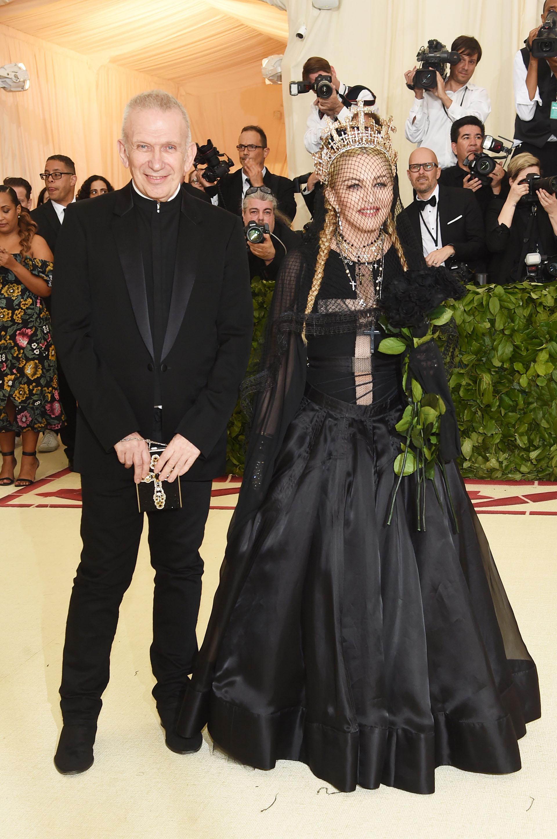 Jean Paul Gaultier y Madonna, una de las duplas más osadas