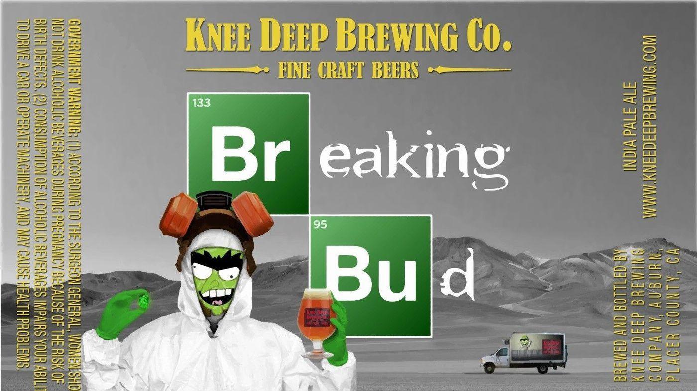 """Logotipo de la cerveza """"Breaking Bud"""" (Cortesía: Breaking Bud)"""