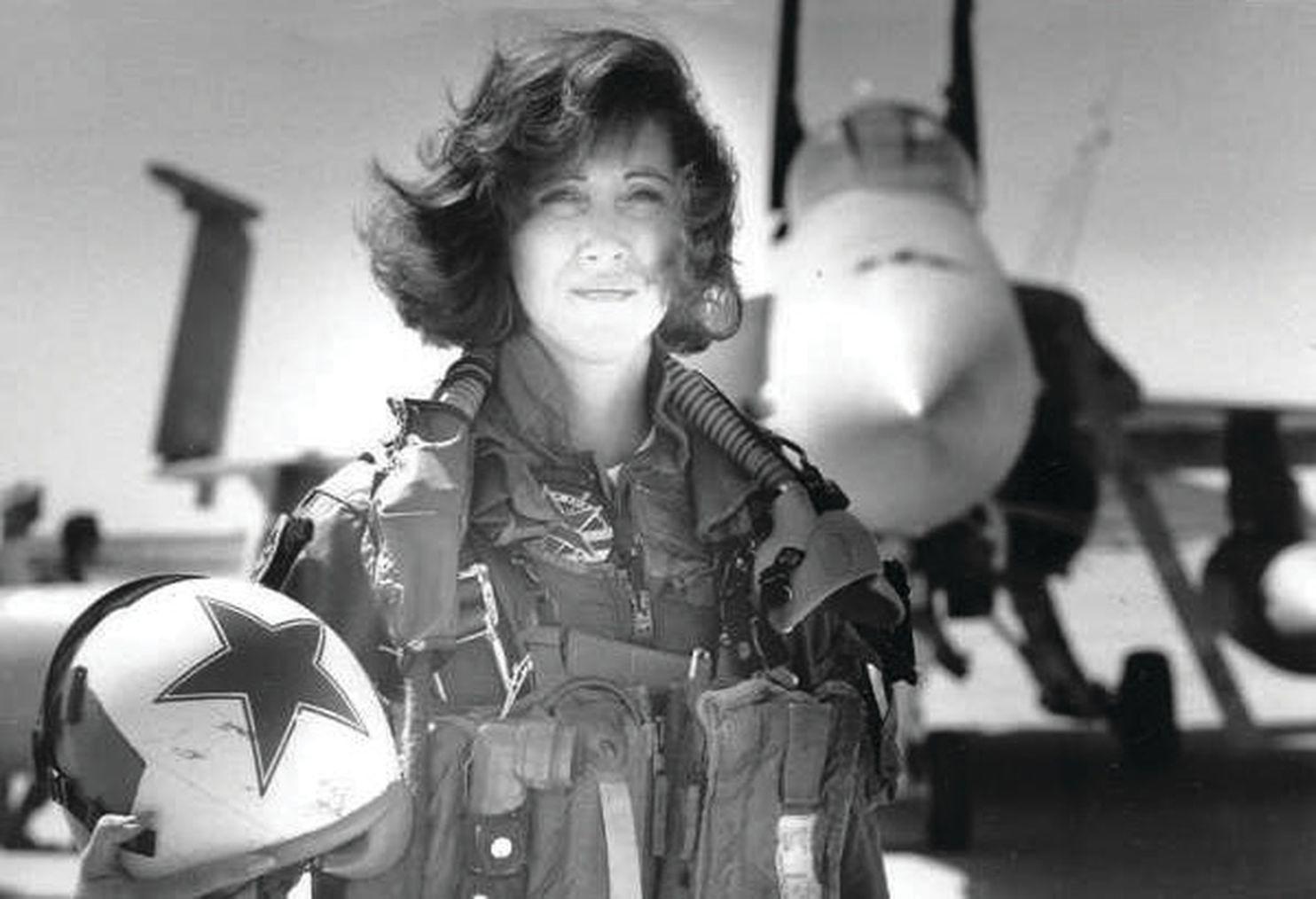 Tammie Jo Shults en una fotografía de los años noventa (Courtesy Linda Maloney)