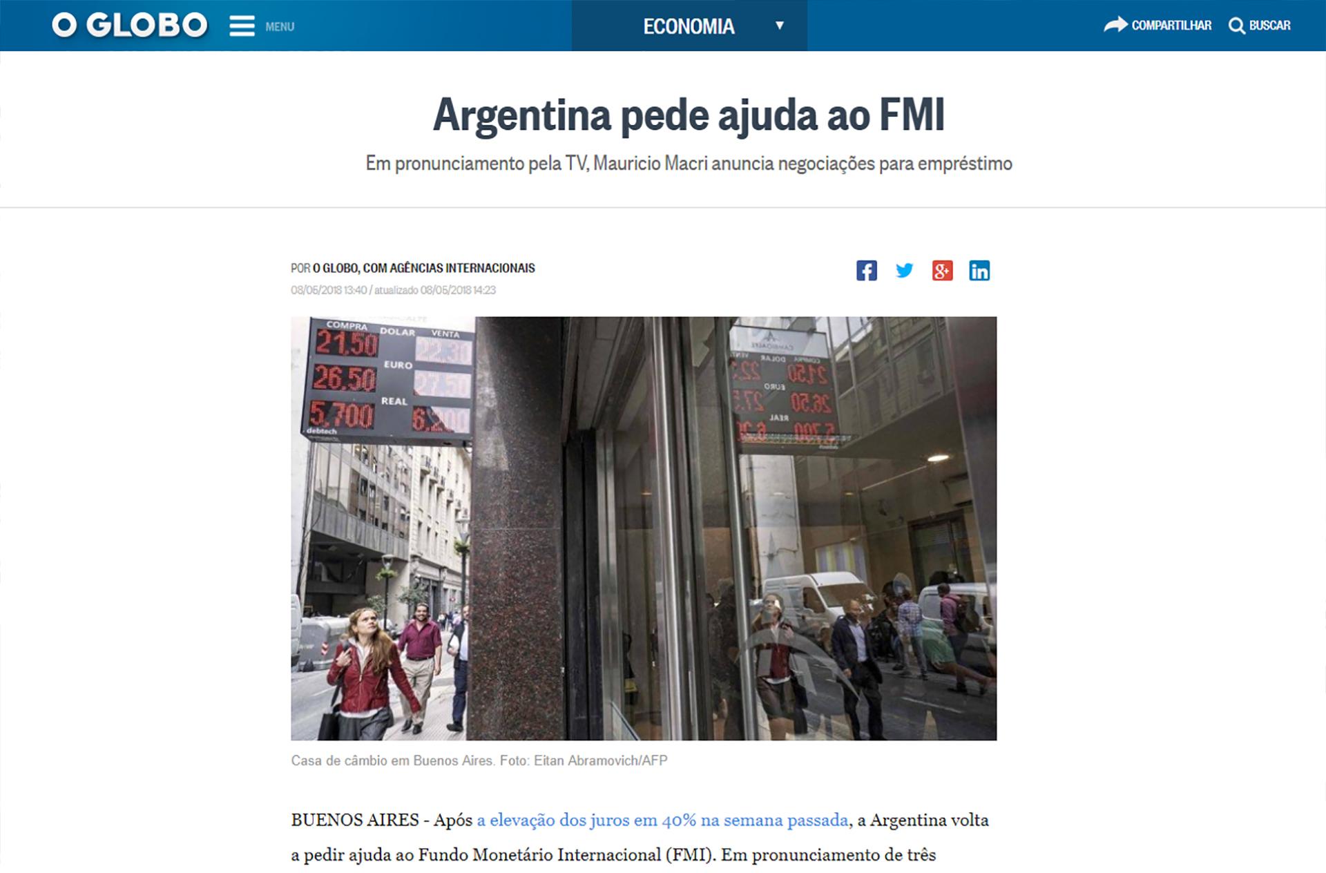 O Globo de Brasil