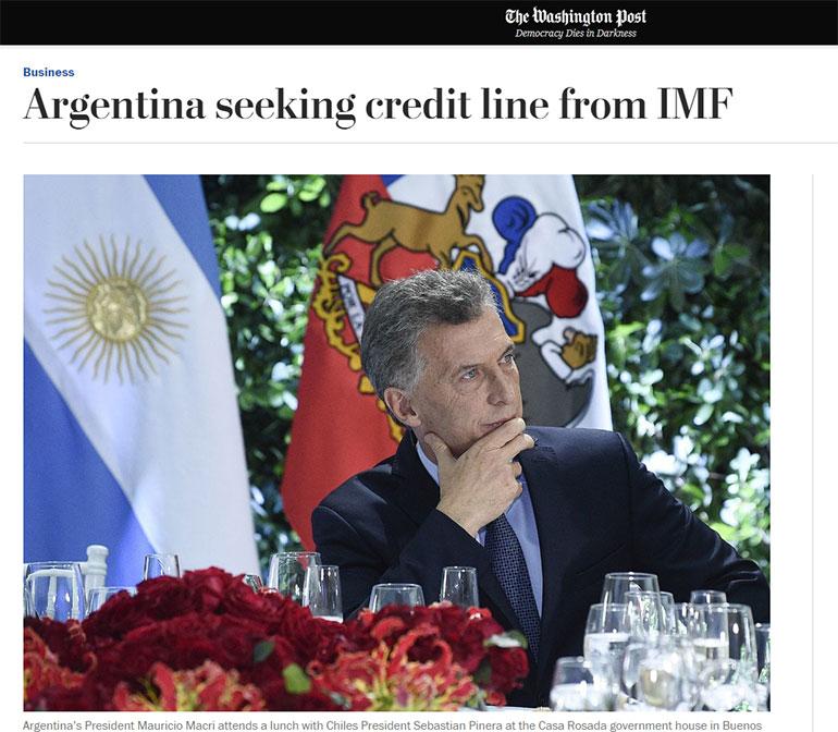 The Washington Post de los Estados Unidos