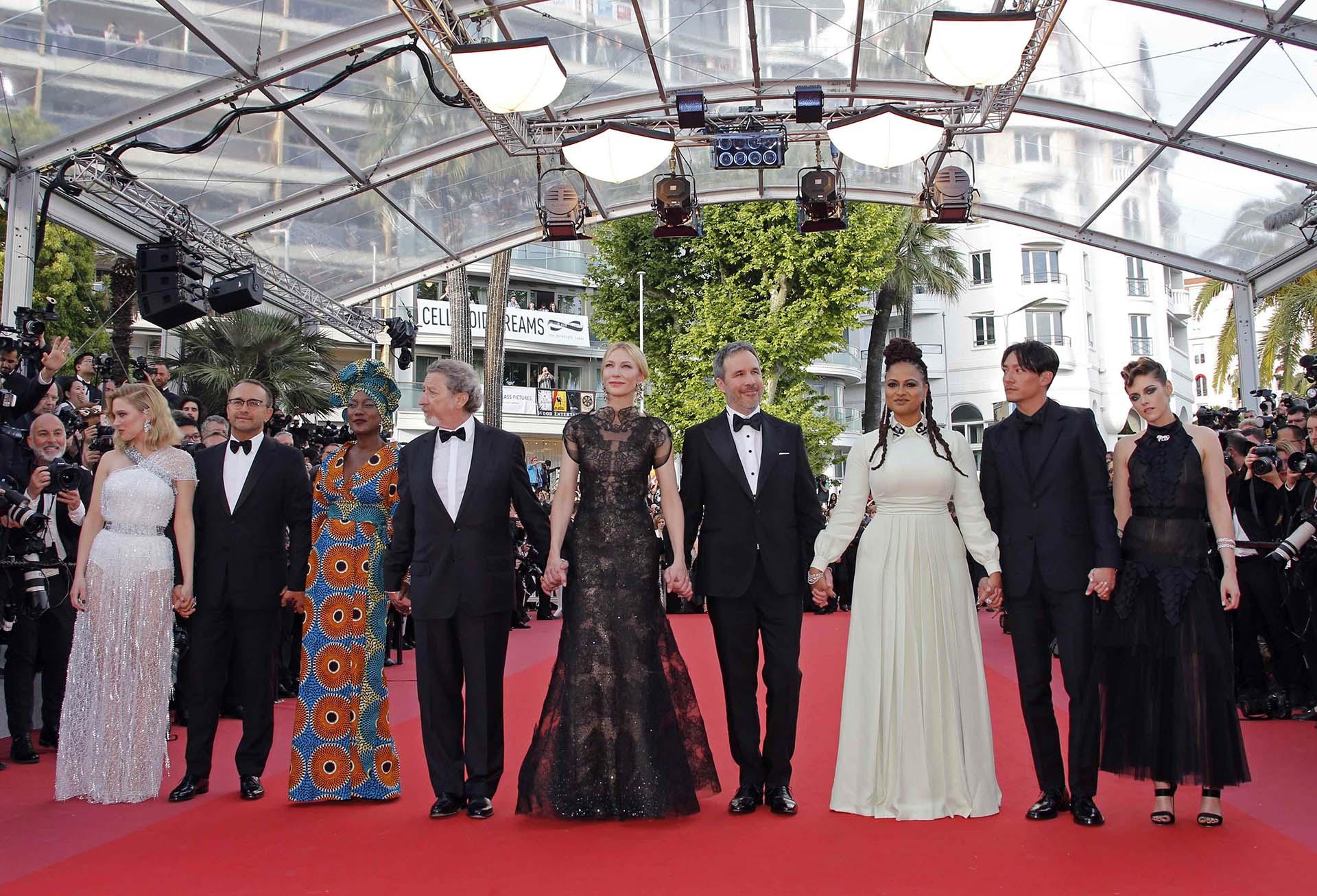 El jurado está integrado por Lea Seydoux, Andrey Zvyagintsev, Khadja Nin, Robert Guediguian, Cate Blanchett, Denis Villeneuve, Ava DuVernay, Chang Chen y Kristen Stewart