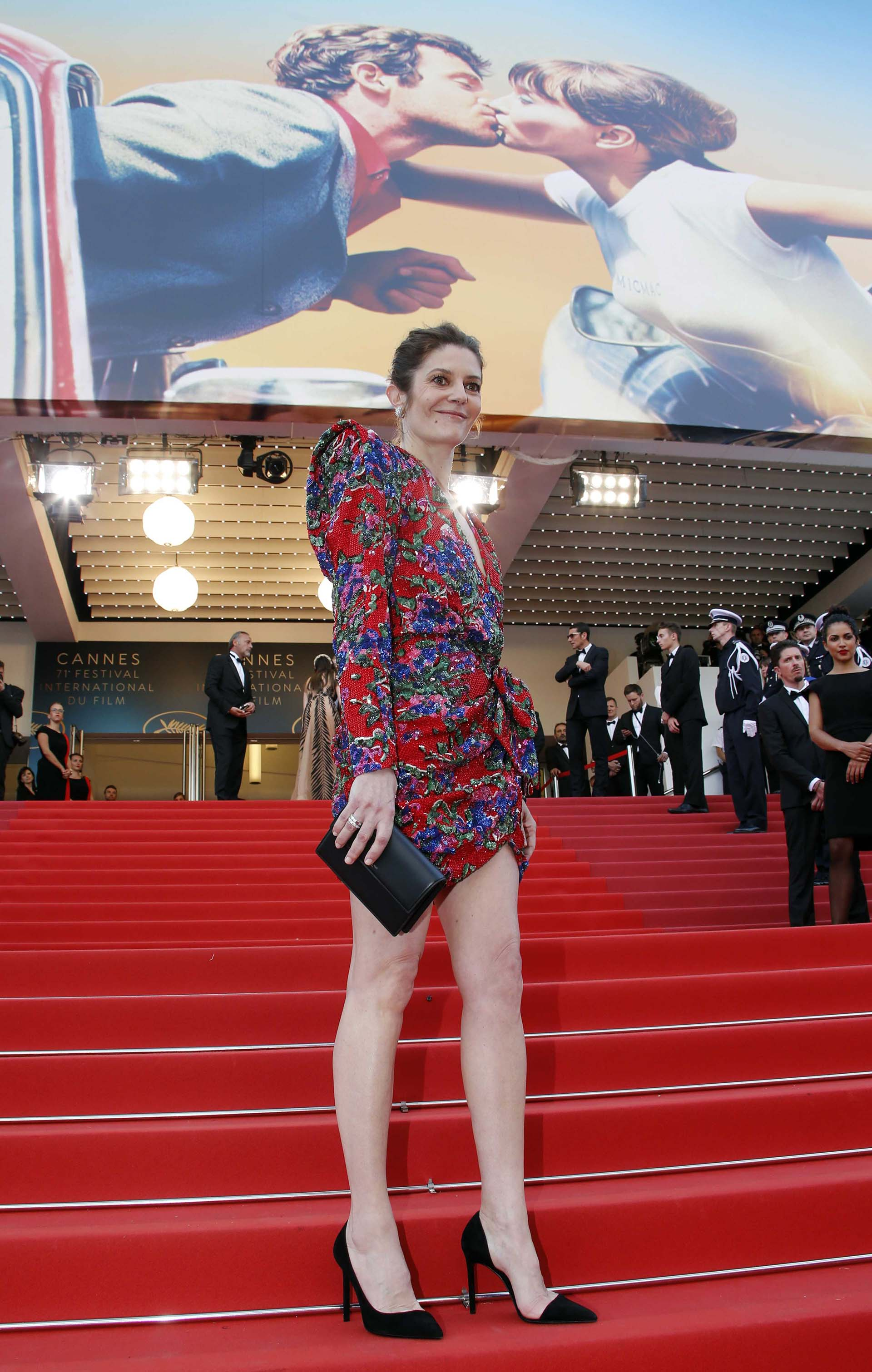 La actrizChiara Mastroianni, hija deCatherine Deneuve y Marcello Mastroianni