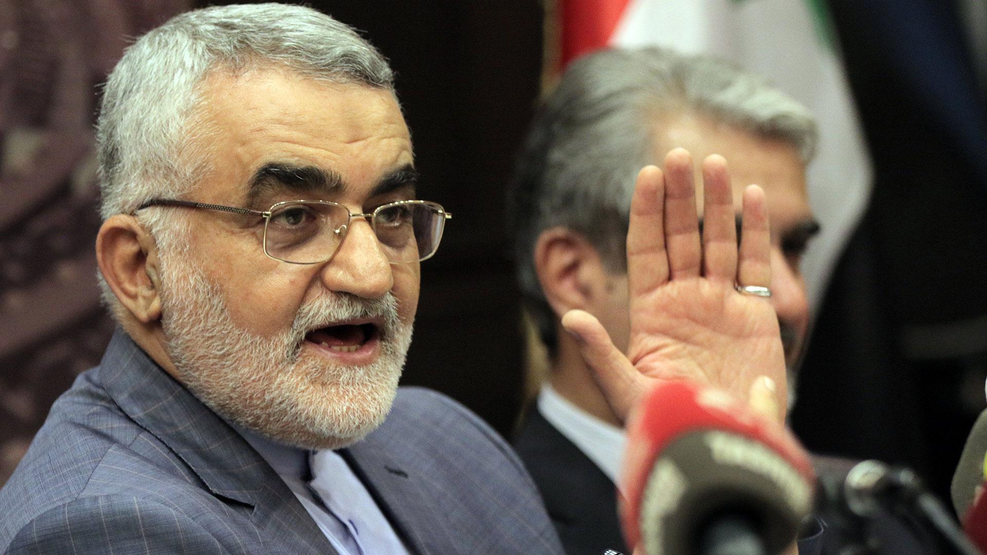 Alaeddin Boroujerdi, presidente del Parlamento iraní (EFE)