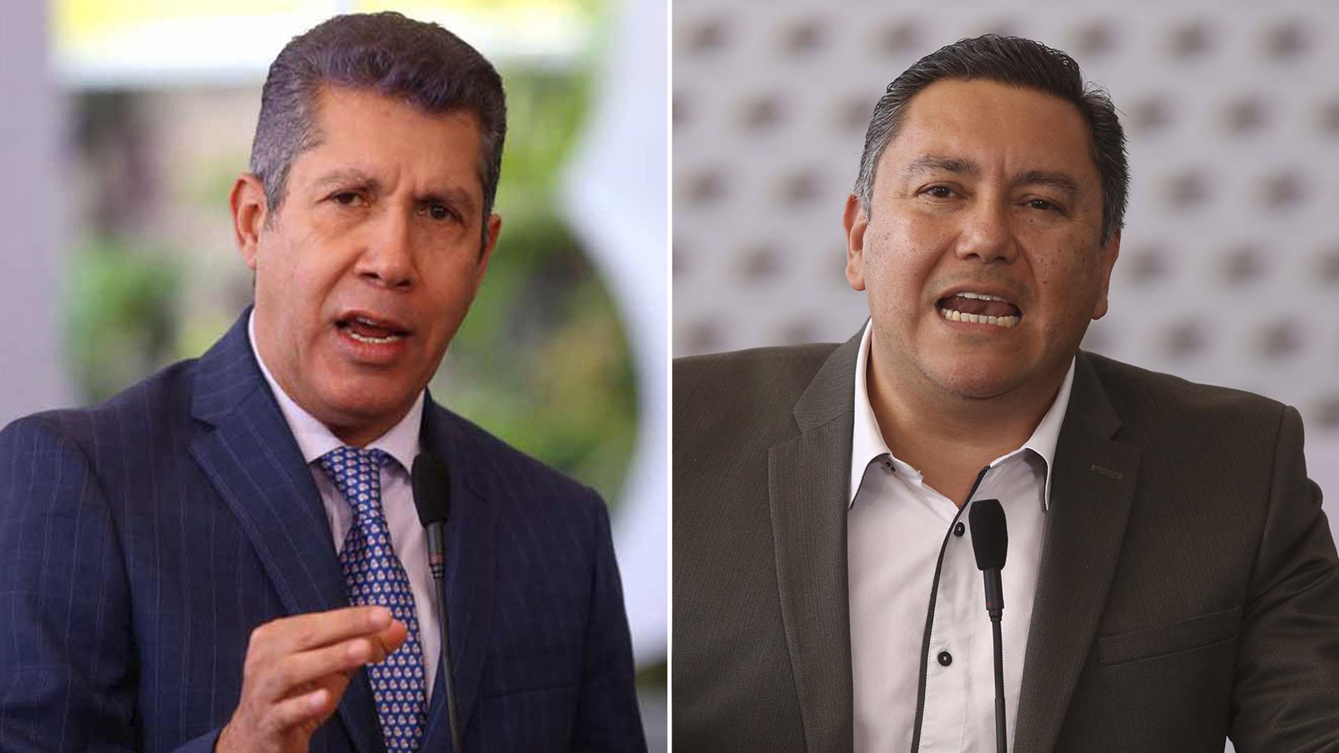 """La oposición acusa a Henri Falcón y Javier Bertucci de seguirle """"el juego"""" a Nicolás Maduro"""