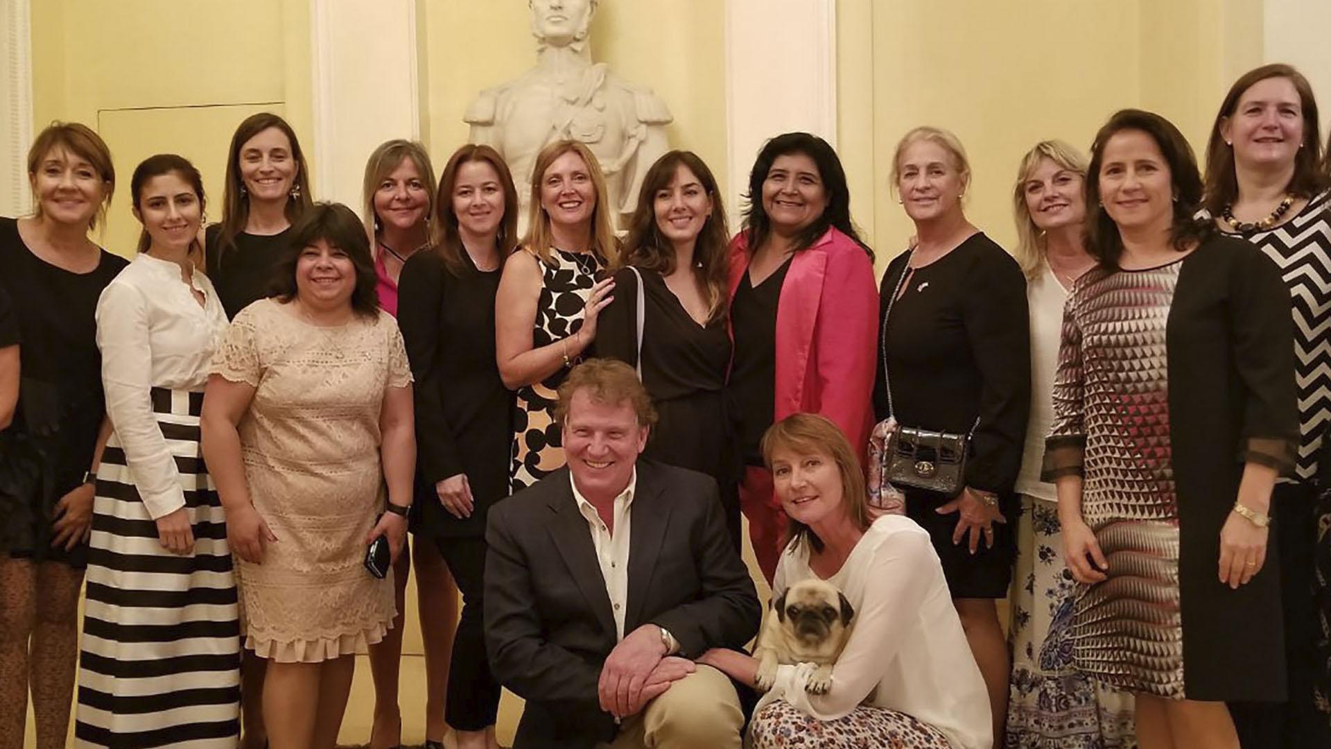 El embajador de la Argentina en el Reino Unido, Carlos Sersale, recibió a la misión del CICyP