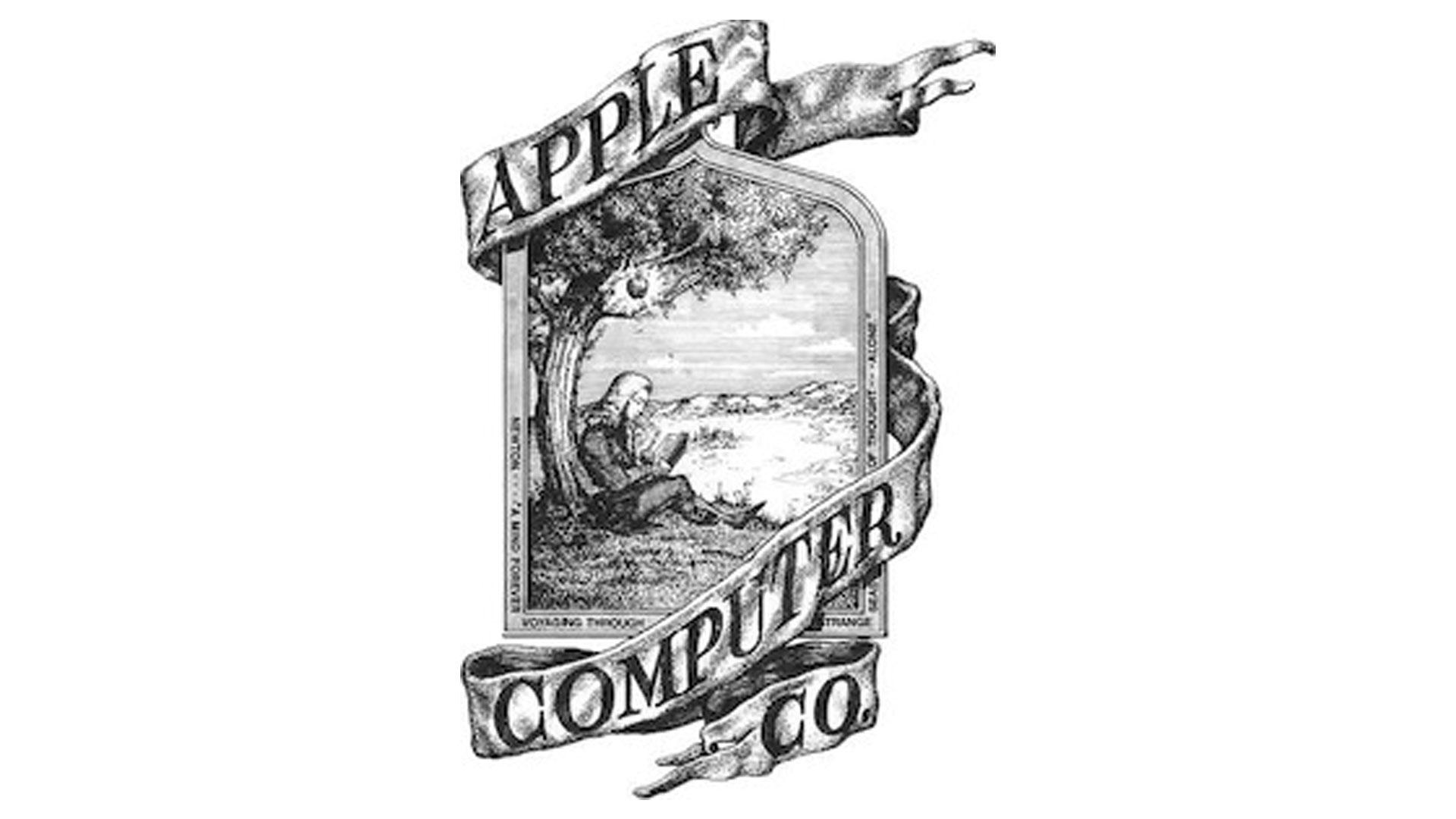 Así era el primer logo de Apple