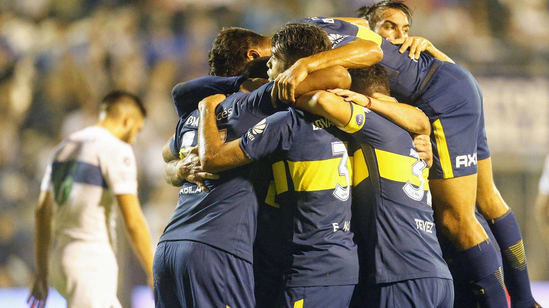 La celebración azul y oro en La Plata: Boca estuvo dos veces en ventaja