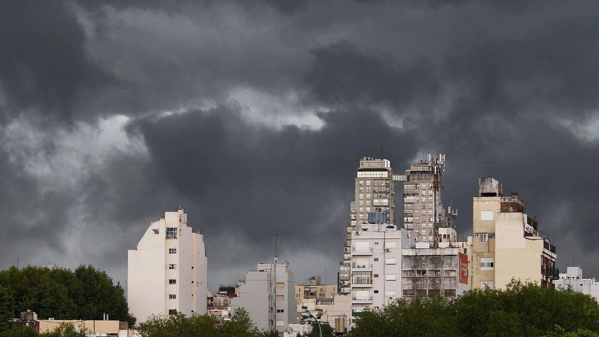 Anunciaron tormentas y ráfagas de viento en diversos sectores del país (Imagen de archivo)