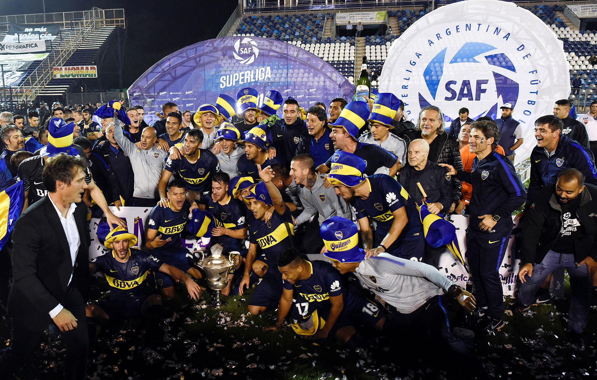 Boca bicampeón del fútbol argentino (REUTERS)