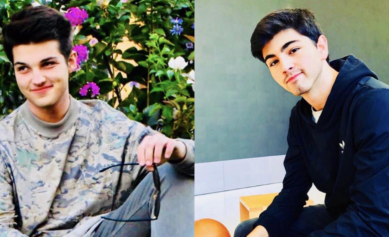 Barrett Riley y Edgar Monserrat Martinez fallecieron a bordo del Tesla. Fotografías gentileza Facebook e Instagram