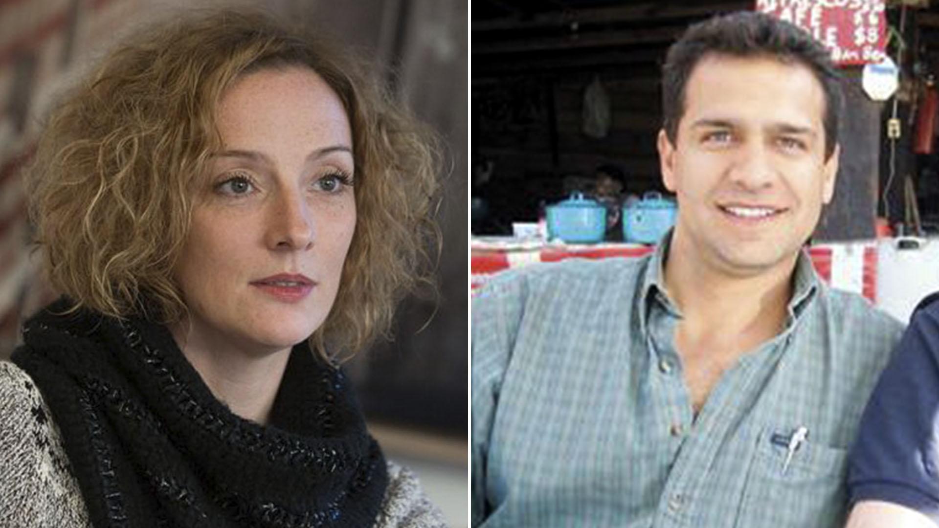 """Amantes y… ¿secuestradores? Florence Cassez e Israel Vallarta, protagonistas de """"Una novela criminal""""."""
