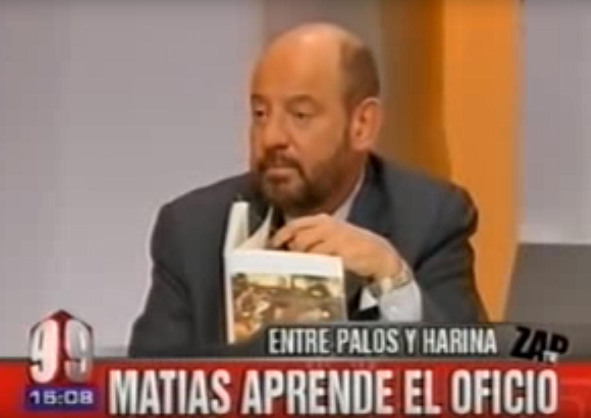 "Jorge Lafauci en ""Zap"""