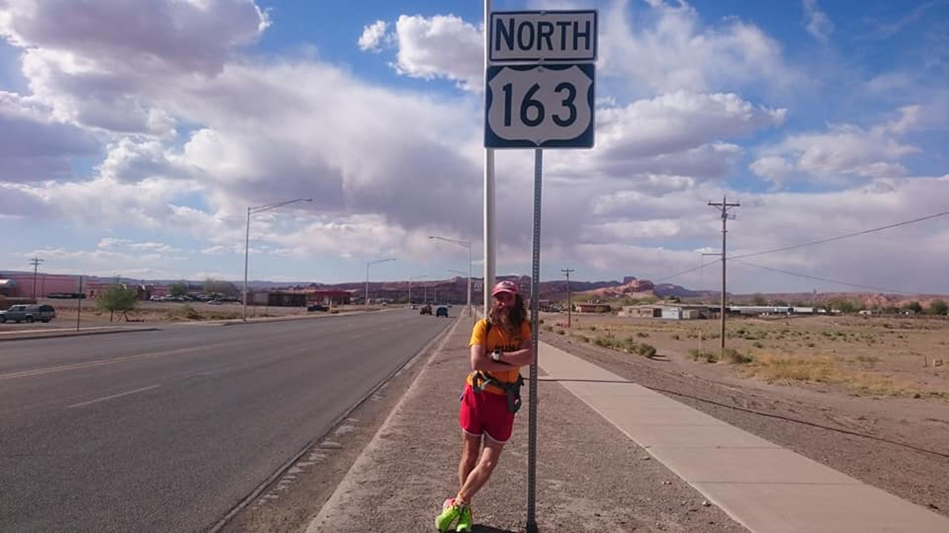 Pope recorrió casi 25 mil km (Facebook/Run Robla Run – Going The Distance)