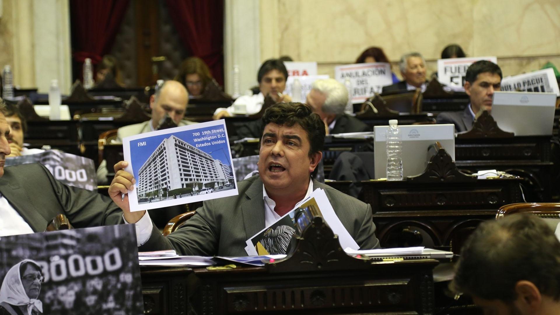 El diputado nacional Fernando Espinoza