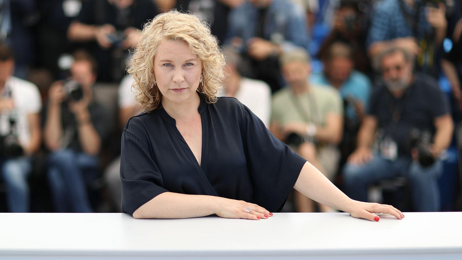 La actriz sueca Eva Melander (AFP)