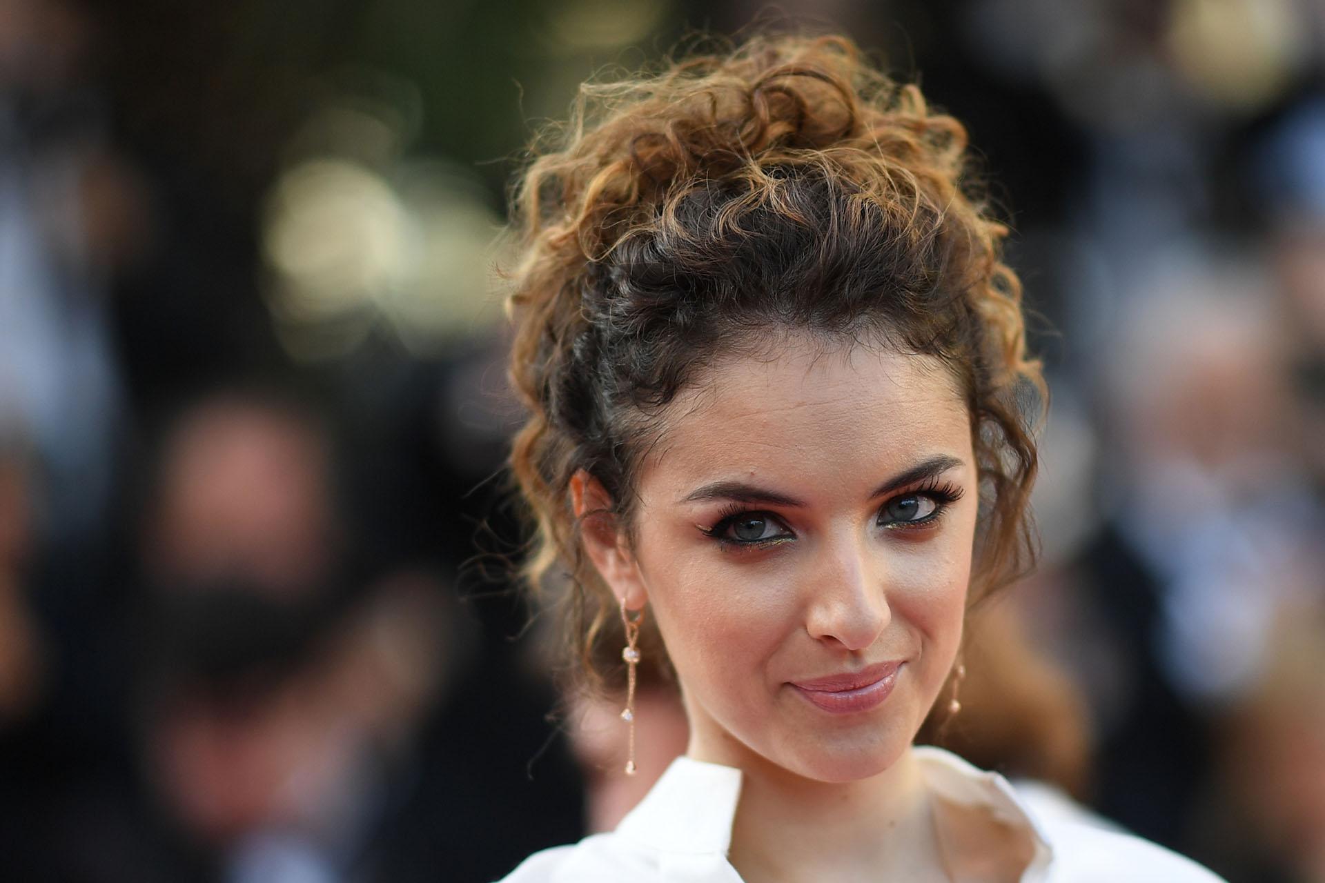 La actriz francesa Camille Lavabre (AFP)