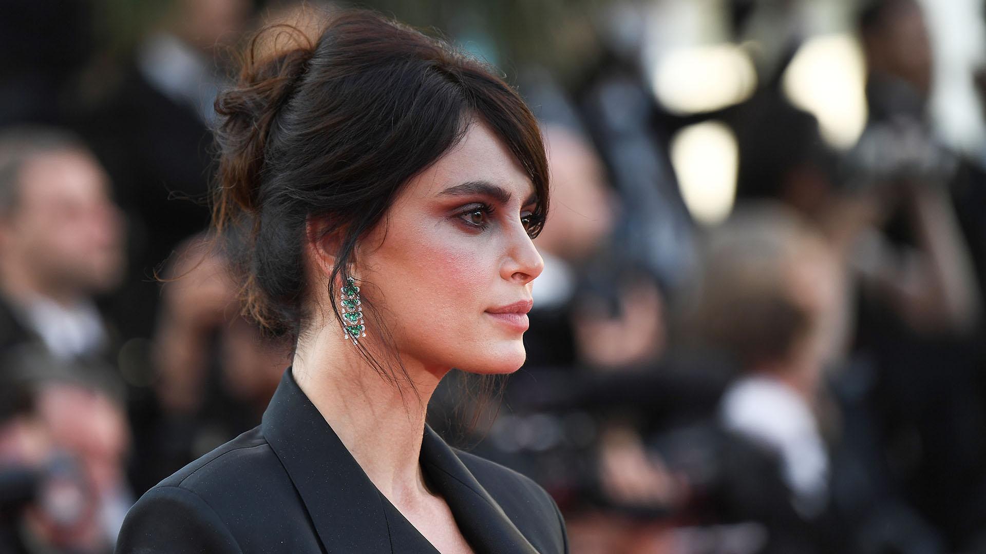 La modelo rumana Catrinel Menghia (AFP)