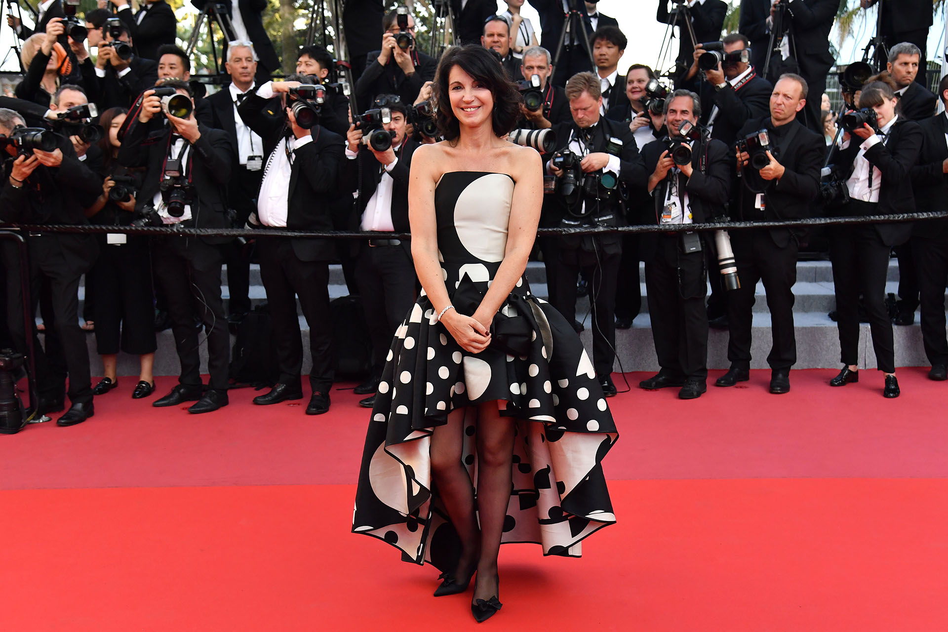 La actriz y directora francesa Zabou Breitman (AFP)
