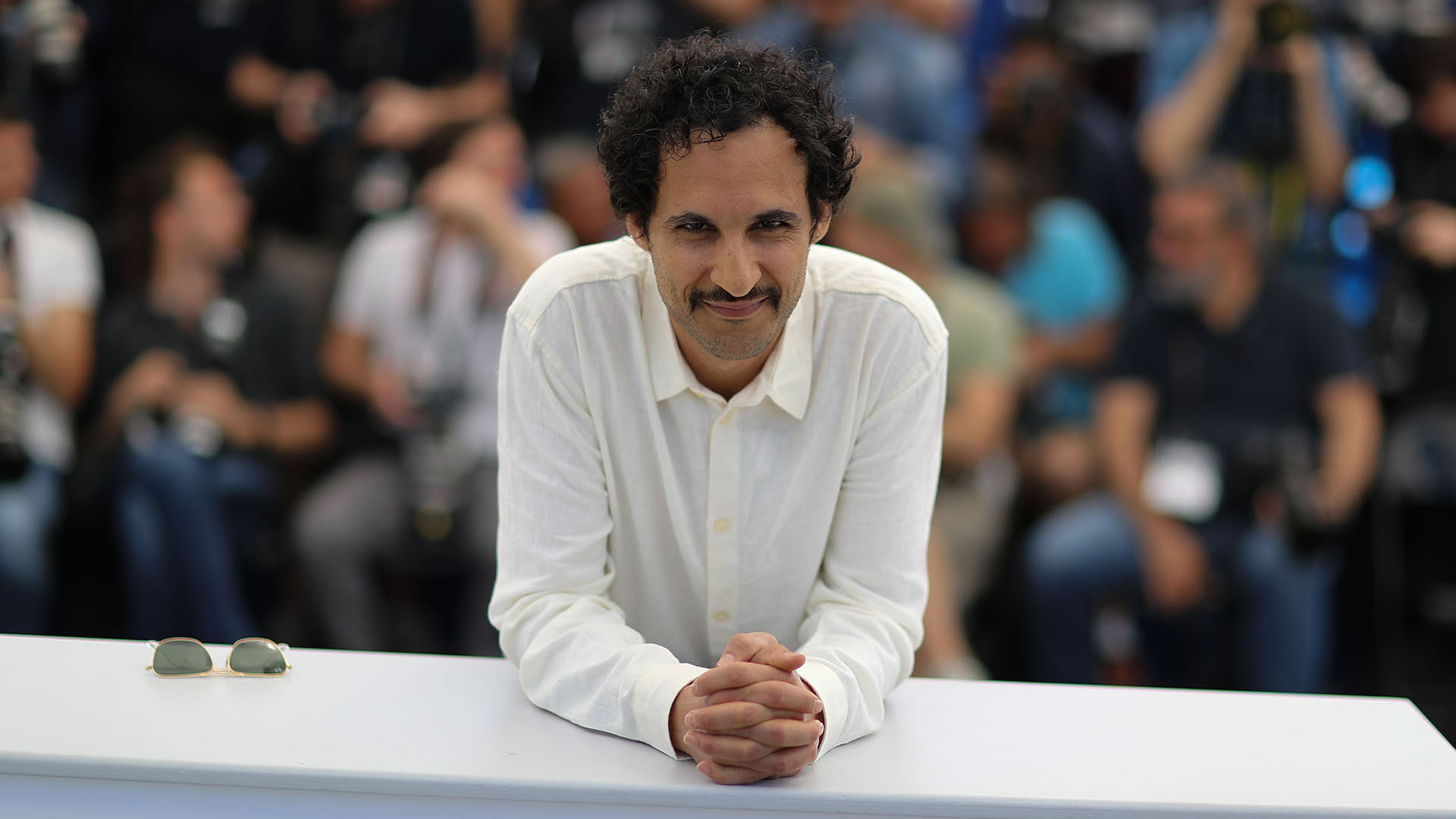 El director iraní Ali Abbasi (AFP)